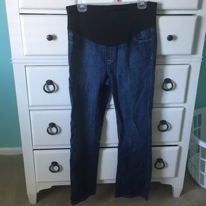 Size large maternity jeans!